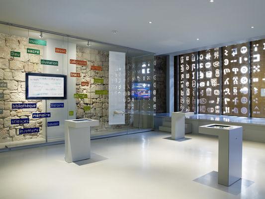 Salle multimédia - musée Champollion_04 Nelly Blaya-CG46