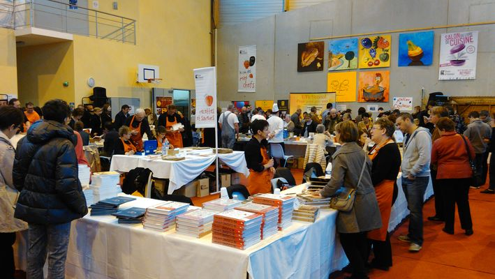 Salon du livre de cuisine - Beynat - 1