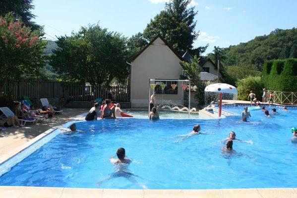 Soleil d Oc - monceaux-sur-Dordogne - Piscine