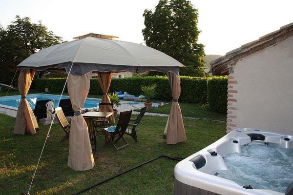 Spa + piscine
