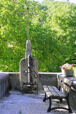 St-Clair fontaine croix