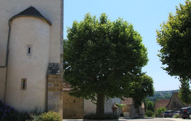 StMichel de B. Condat.place du village