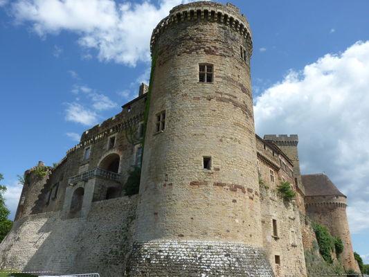 Tour du Château de Castelnau-Bretenoux
