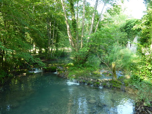Vallée de la Rauze - Cours Lot Tourisme - M. Bouchet