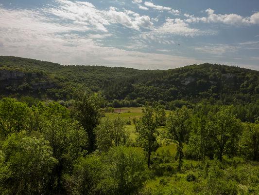 Vallée du Célé - vue sur la vallée_06 © Lot Tourisme - C. Sanchez