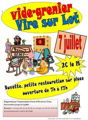 Vide-Greniers à Vire-sur-Lot