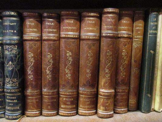 Vieux livres reliés