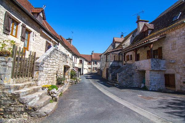 Reilhac - Vue sur le Village