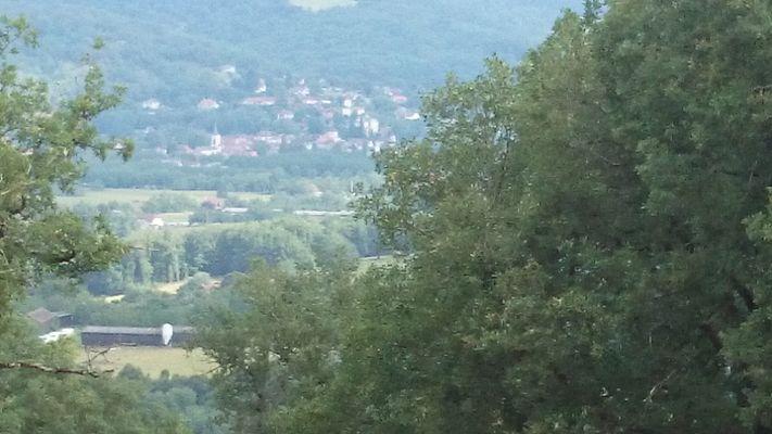 Village de St Sozy vu du Haut du Bougayrou