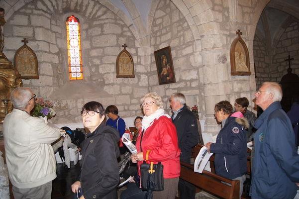Visite chapelles Xaintrie