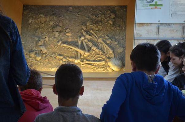 Visite-guidee-enfants-Neandertal--Musee-de-l-Homme-de-Neandertal--La-Chapelle-aux-Saints-Musee-de-l-Homme-de-Neandertal