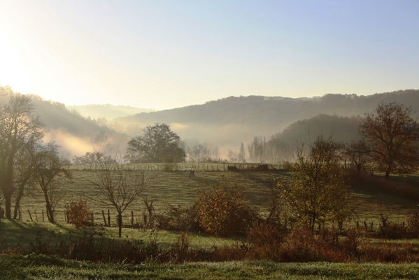 Vue depuis le hameau © Hameau du Quercy -005