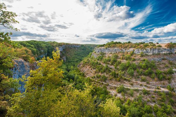 Gramat - Vue sur le causse et le Canyon de l'Alzou © Lot Tourisme - C. ORY
