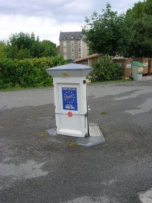 borne de services d'Alvignac