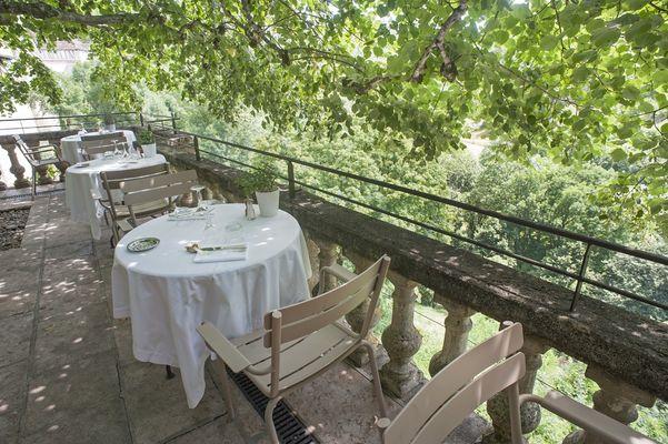 bordure terrasse restaurant redimenssioner