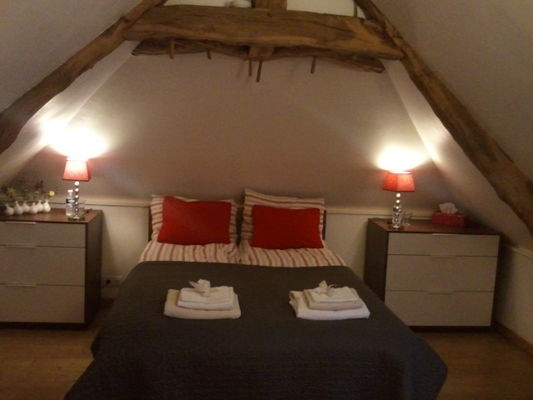 chambre rouge gorge