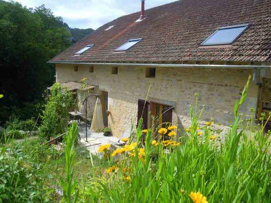 Mme CLAQUIN CH à Saint-Cirq Lapopie