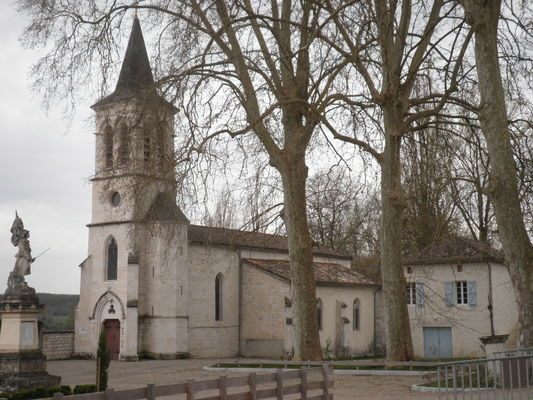 Eglise St Martin de Cézac