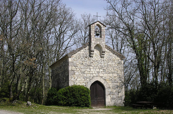 Eglise de Saint-Jean le Froid à Lascabanes