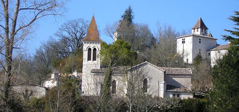 Eglise Saint-Pierre es-liens à Pechpeyroux