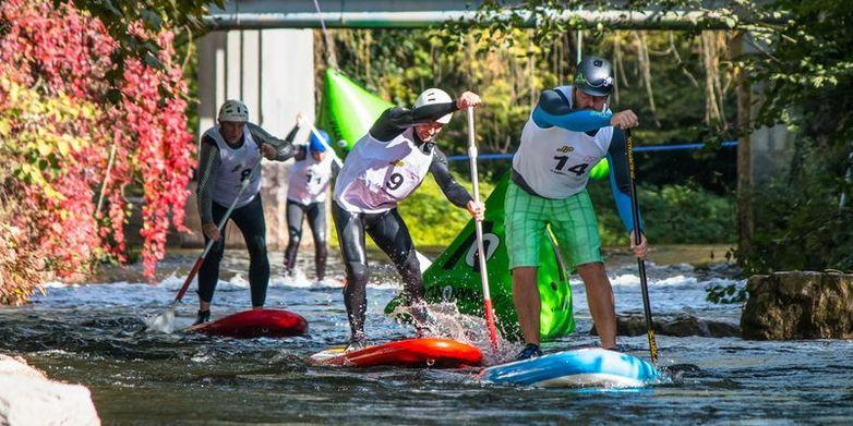 image Paddle race