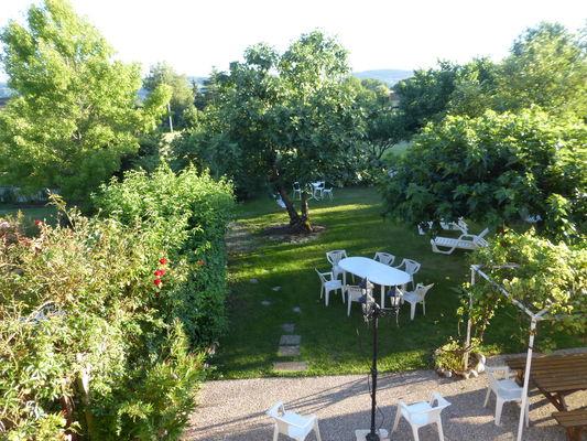 jardin vue d etage