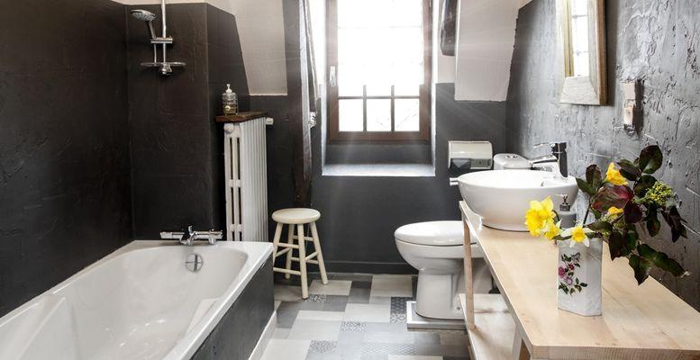 la salle de bain de la chouette