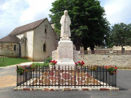 monument aux morts Lavercantiere (2)