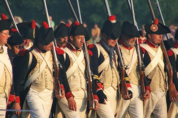 parade napoléonienne