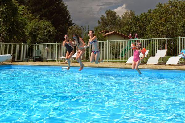 piscine © L'Ormerée