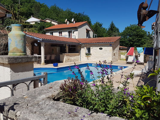 piscine-chambre-hotes-cahors-lot