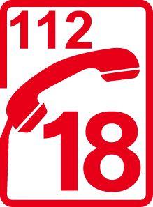 pompiers 18 - 112