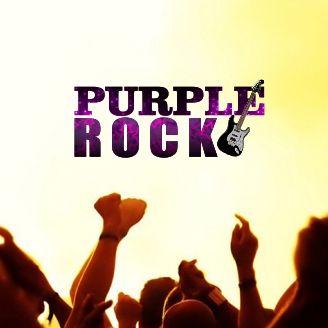 purple rock