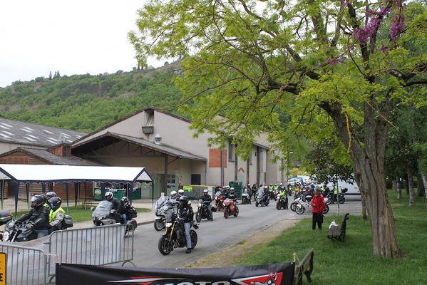 rando moto Cajarc