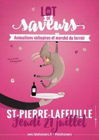 marché lot of saveurs St Pierre Lafeuille