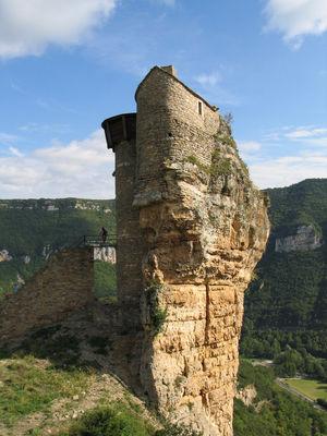Chateau de Peyrelade (rocher donjon)