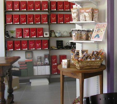 Chez Damasellles intérieur boutique