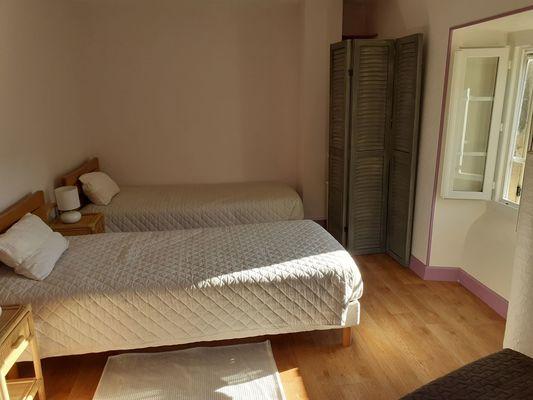 chambre 2 lits en 90