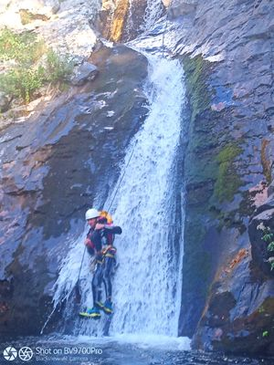 Canyoning Mélanie et Guillaume Millau Sport Nature