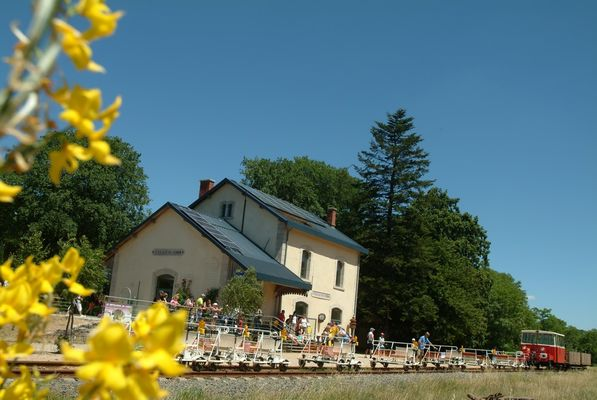 Vélo Rail du Larzac