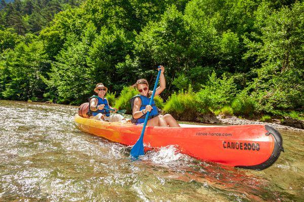 Canoe 2000 - La Malene