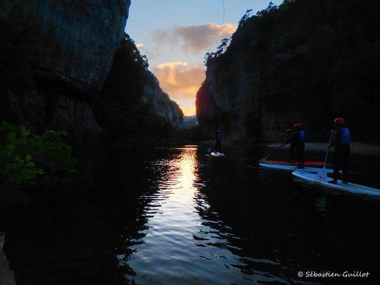 paddle de nuit
