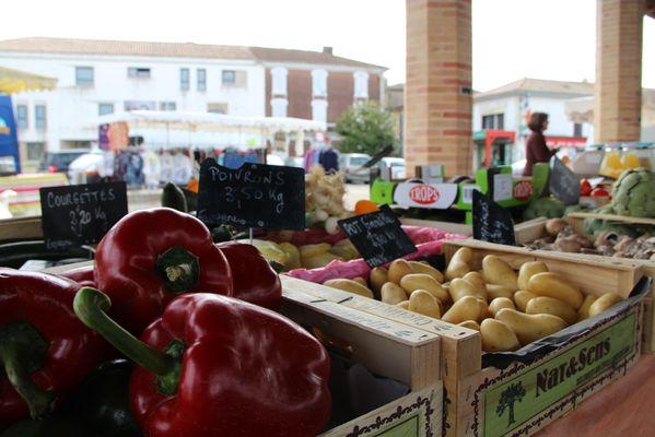 Marché Montfort - légumes