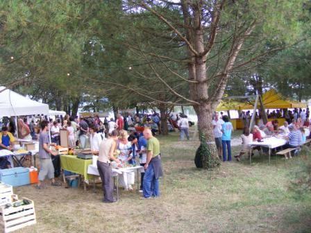 Marché de producteurs en Tursan