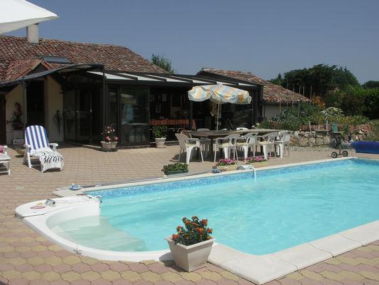 Millot - terrasse piscine