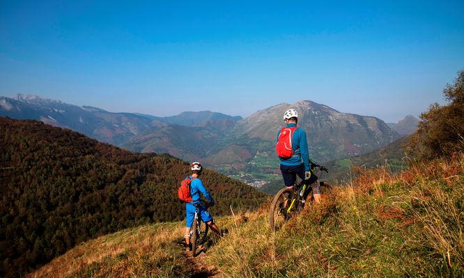 Tour Bergout Ichantes Jaupin VTT