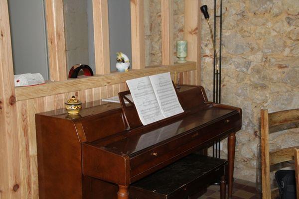 Odé - piano à votre disposition