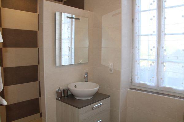 Odé - salle de bain chambre 2 pers