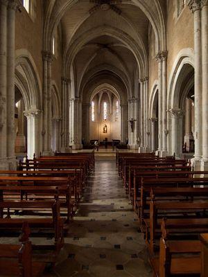 Abbaye de Maylis - Eglise Notre Dame Intérieur