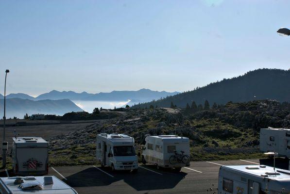 Aire de camping-cars de la Pierre Saint-Martin - Ete 02